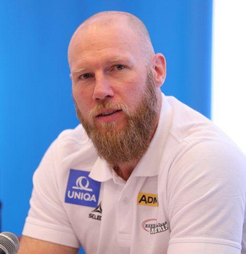 Österreichs neuer Handball-Teamchef Ales Pajovic sieht viel Potenzial. gepa
