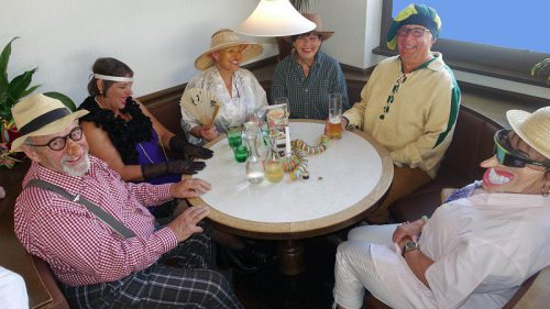 Pensionistenverband Partenen: Faschings-Kränzchen mit zahlreichen Narren. PVÖ