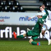 Austria gegen Juniors ausgerutscht