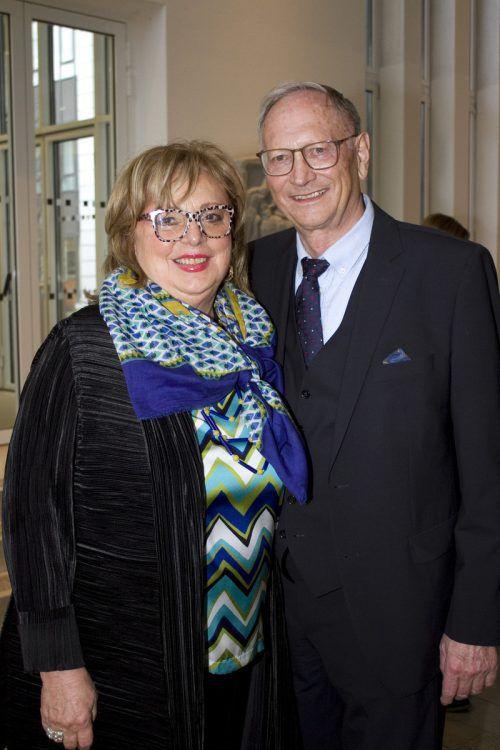 Professorin Irmgard Simma und Gatte Jodok.