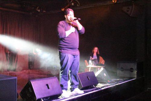 Rapper Samt lud zum Nachdenken ein.henning heilmann