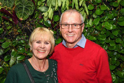 Regina und Wilfried Gantner erlebten einen schönen Abend.