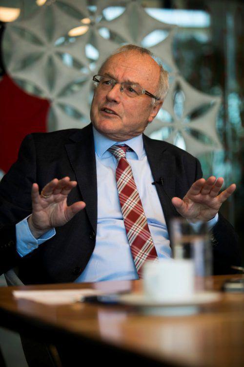 Reinhard Haller vermisst stärkeren Fokus auf das Drogenthema. VN/RP