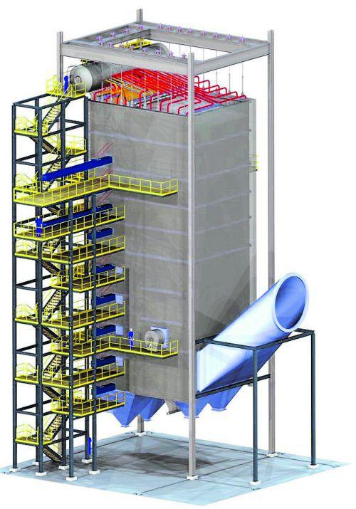 REKO-Recyclinganlage in Rotterdam in den Niederlanden. GMB/Paul Martens