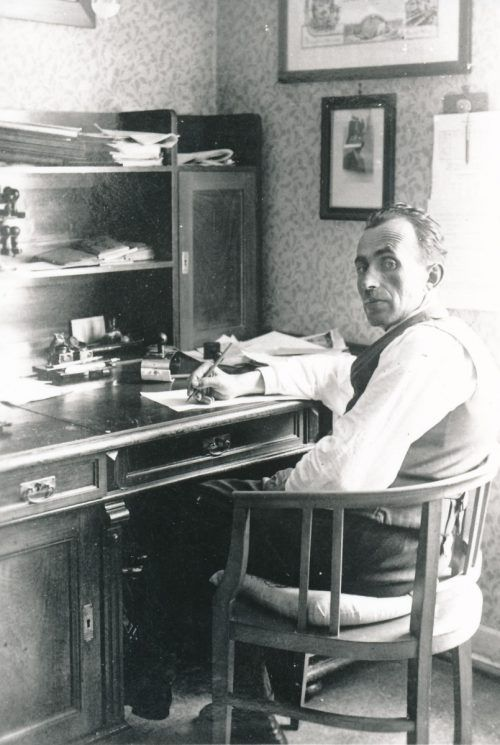 Schuster Samuel Spindler wurde von den Nazis verfolgt und wählte 1942 den Freitod.veranstalter/herbert pruner