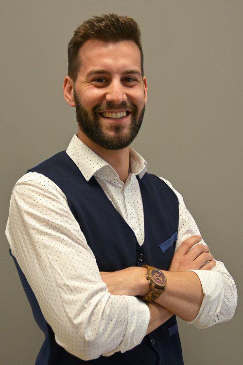 Simon Tschann (26), Spitzenkandidat der VP-Bludenz für Gemeindewahl 2020. VN
