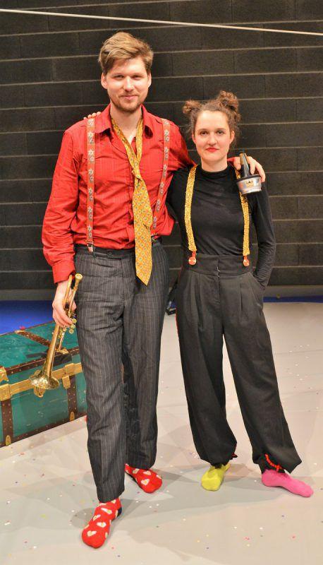 Simon Zöchbauer und Emmy Steiner (Cinello) begeisterten das Publikum.