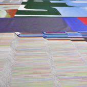 Textile Rauminstallation im Kunstraum Engländerbau