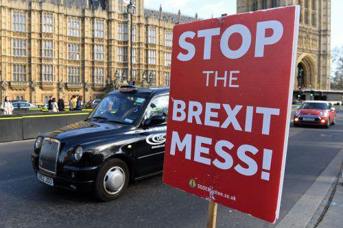 """""""Stoppt das Brexit-Chaos"""", fordern immer mehr Briten und EU-Bürger. afp"""
