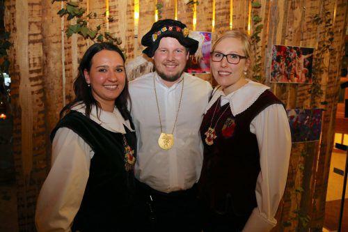 Tamara Katharina, Marco und Tamara in bester Ball-Laune.