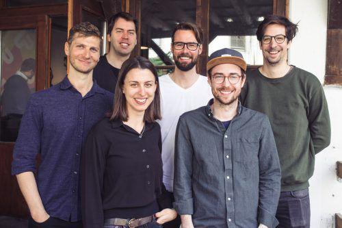 Team von Start-up-Land und die Limomacher: Christof Flachsmann, Thomas Gabriel, Julia Grahammer, Thomas Metzler, Julian Egle und Alex Thurnher. veranstalter