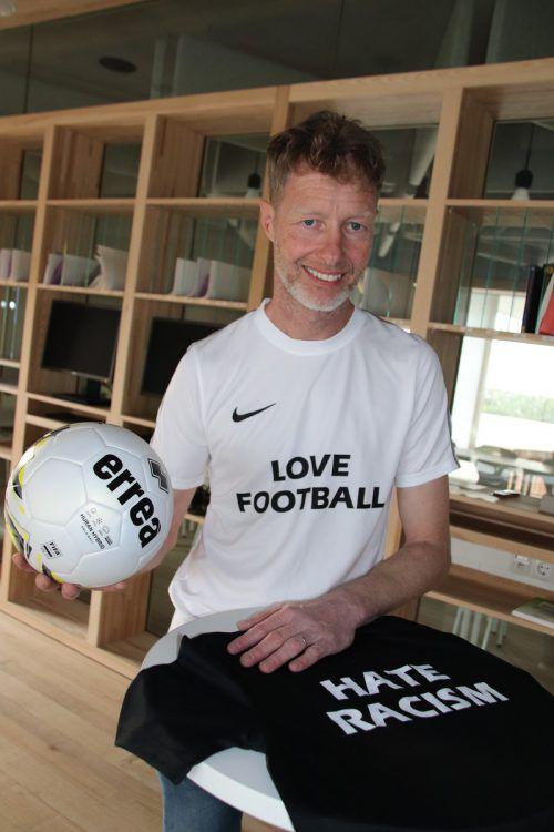 Tobias Albrecht lobt sein Team für die Unterstützung. moosbrugger