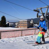100.000 Kinderfahrten in dieser Ski-Saison