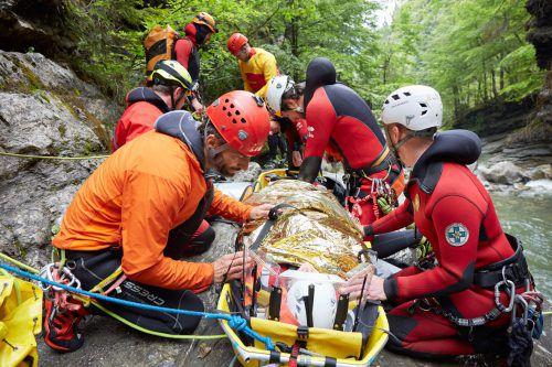 Über 1000 Dienststunden brachte die Bergrettung Dornbirn vergangenes Jahr zusammen. Bergrettung