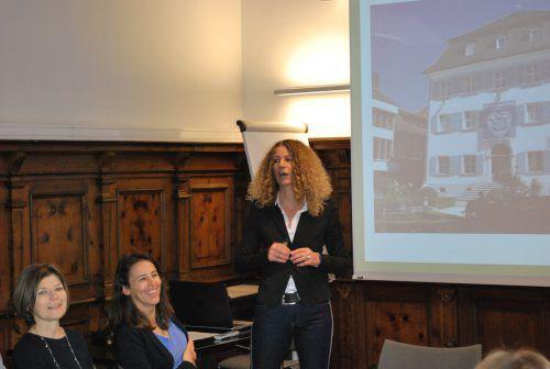 Ulrike Mersnik, Direktorin der MS Baumgarten, weiß die Teilnehmer schon im Vorfeld für die IMTA zu begeistern. erh