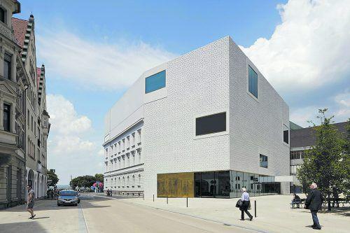 VN-Abonnenten besuchen das vorarlberg museum am Kornmarktplatz in Bregenz zum Vorteilspreis von 7 statt 9 Euro.hanspeter schiess