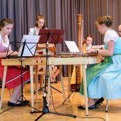 Musikschule Bregenzerwald mit traditioneller Musik