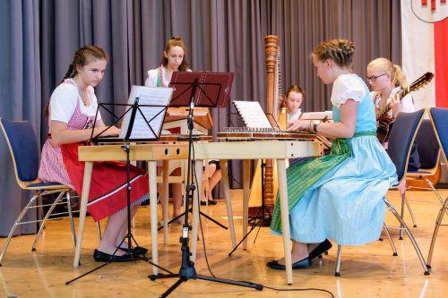 Volksmusikkonzert mit traditioneller Musik aus dem Bregenzerwald und angrenzenden alpenländischen Regionen. me