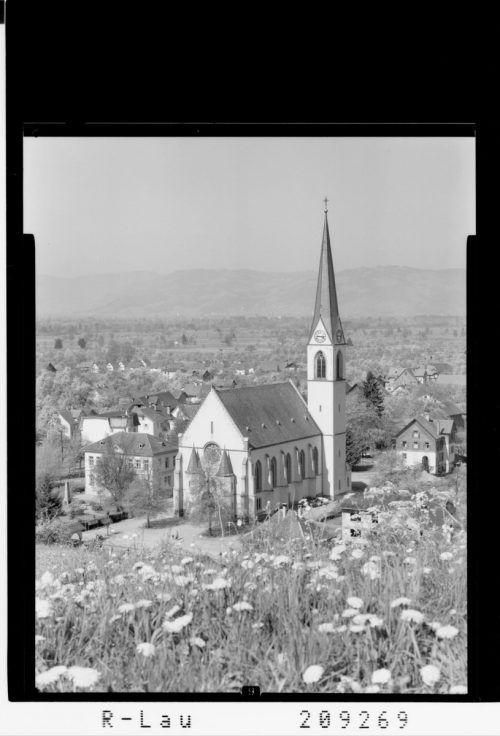 Wie sich Schwarzach in den vergangenen Jahrzehnten verändert hat, zeigt die Aufnahme aus dem Jahre 1963.