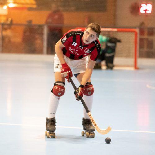 Wolfurt-Topskorer Iker Bosch erzielte vier Treffer.VN/Sams