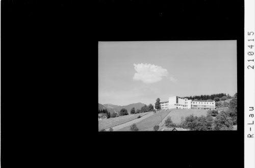 1965: das neu eröffnete Bildungshaus Pius XII.