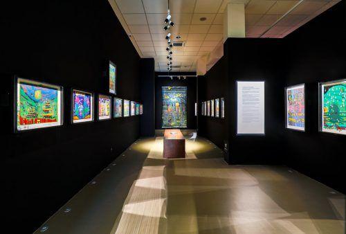 """85.000 Besucher lockte die letzte Sommerausstellung """"Friedensreich Hundertwasser – Traumfänger einer schöneren Welt"""" nach Lindau. Flemming"""