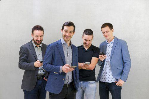 """Alexander Troy, Matthias Burtscher, Rene Ponudic, David Roth setzen auf """"new work""""-Atmosphäre. Fusonic"""