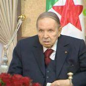 Algeriens Präsident zog Konsequenzen