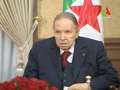 Algeriens PräsidentAbdelaziz Bouteflika (82) tritt nach 20 Jahren zurück. Reuters