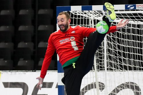 Alpla-HC-Hard-Goalie Golub Doknic brillierte auch beim All-Star-Game. GEPA