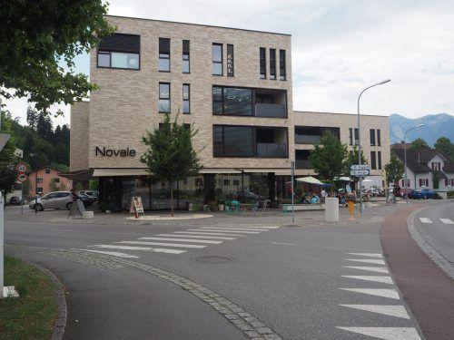 Am Mittwoch findet die kommissionelle Verhandlung über die im Novale-Gebäude geplante Nofler Apotheke statt. egle
