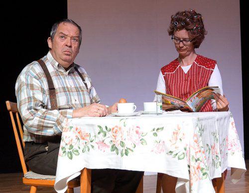 """Am Ostersonntag findet die Premiere von """"LORIOTISCHES"""" in Sulzberg statt. T. Bilgeri"""