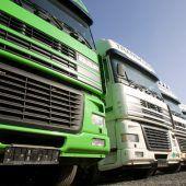Lkw-Fahrer sind Mangelware