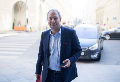 Andreas Schieder zieht als SPÖ-Spitzenkandidat in den EU-Wahlkampf.APA
