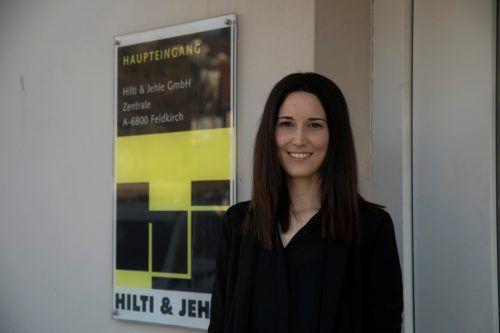 Anna Hilti, Fa. Hilti & Jehle: In der Bauwirtschaft gibt es viele Veränderungen und Herausforderungen. VN/Paulitsch