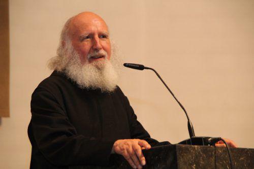 Anselm Grün spricht heute im Leiblachtalsaal in Hörbranz.