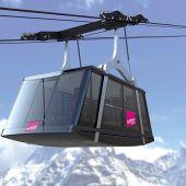 Vier Funifors für James Bonds Alpenquartier