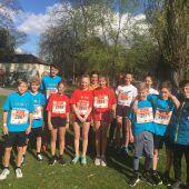 Dritter Platz beim City-Marathon