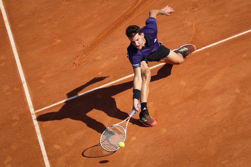 Auf Dominic Thiem wartet heute in Barcelona das zwölfte Zusammentreffen mit Rafael Nadal.apa