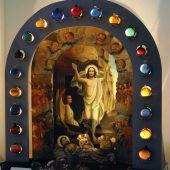 Die Auferstehung als theatrale Szene in den Kirchen