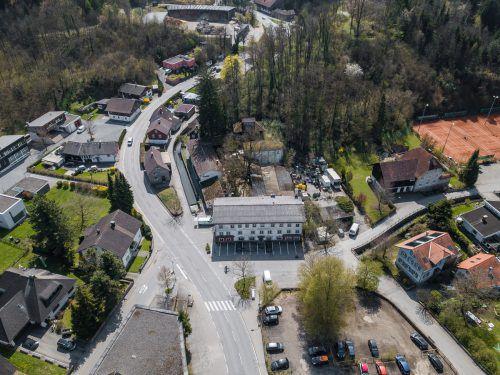Vorkaufsrecht für Sternbräu-Komplex wurde gezogen. Jetzt bleibt aber Getränkelager-Grundstück (rechts) im Besitz des jetztigen Wirt. VN