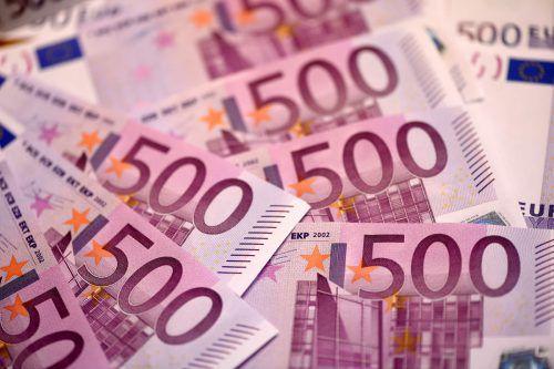 Banknote unter Verdacht: 500-Euro-Note soll bei Kriminellen beliebt sein.AFP