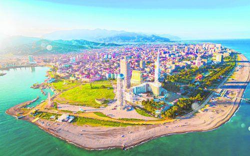Batumi ist die Hauptstadt der autonomen georgischen Republik Adscharien.