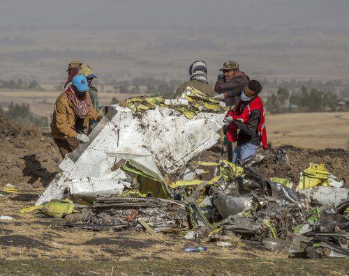 Bei dem Flugzeugabsturz am 10. März kamen alle 157 Insassen ums Leben. AP