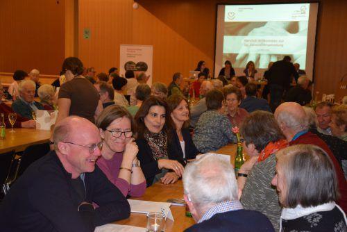 Bei der Generalversammlung des Krankenpflegevereins Götzis waren viele Mitglieder dabei. verein