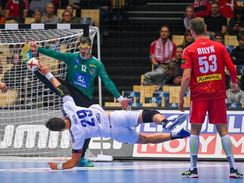 Bei der WM 2019 absolvierte Nikola Marinovic sein letztes Länderspiel.GEPA
