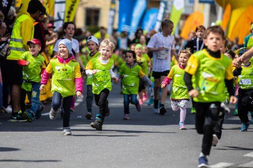 Beim Fröschle-Marathon geigten die Kleinen für einmal ganz groß auf.