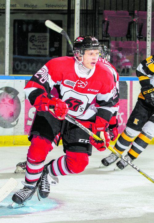 Bester Spieler der Woche in den drei kanadischen Juniorenligen: Marco Rossi.wutti