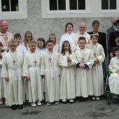 Erstkommunion in Bings gefeiert