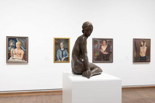 Blick in die Ausstellung zur Wiener bzw. zur österreichischen Moderne, das heißt in die neu gestaltete Dauerausstellung. Leopold Museum/Rastl